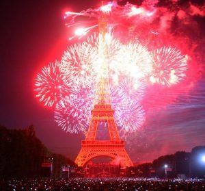 Год как и рождество во франции да и