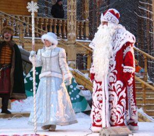 Великий Устюг - Родина Деда Мороза