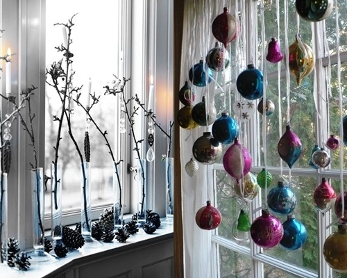 Как украсить окно снежинками к новому году