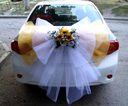 Свадебный декор машины своими руками 26