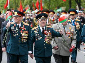 Шествие ветеранов