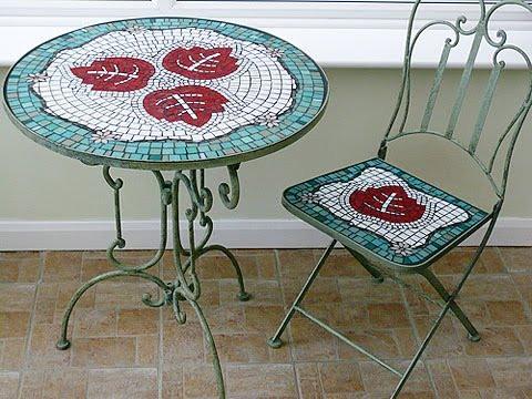 Стол своими руками. Как сделать мозаичный стол своими руками?