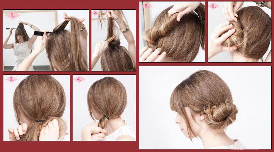 как сделать прическу на длинные тонкие волосы