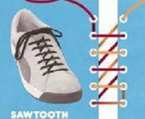 Как завязывать шнурки? 10 способов завязывать шнурки