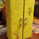 Кукольный шкаф. Как сделать кукольный шкаф своими руками?