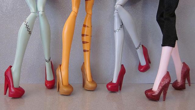 Туфли для кукол своими руками