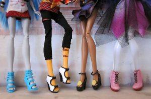Как сделать туфли для кукол Монстр Хай, Барби из полимерной глины?