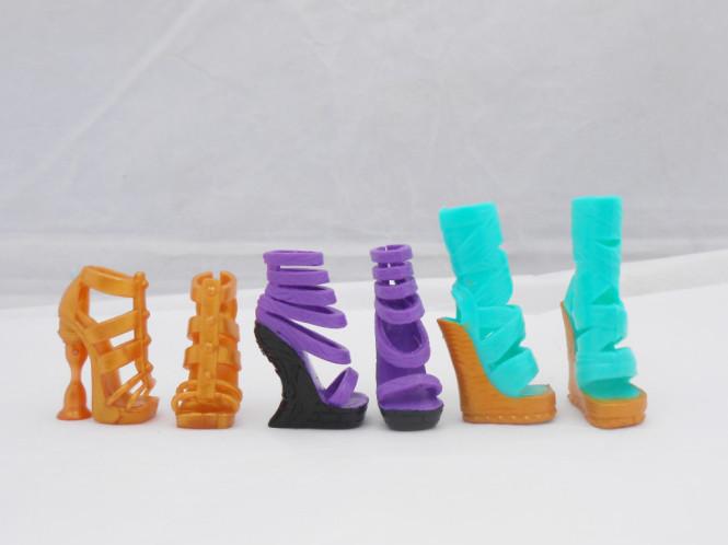 Туфли из бумаги 5