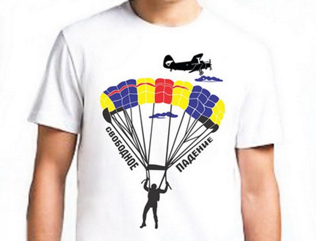 Майки парашютная тематика