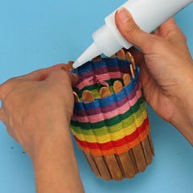 Карандашница своими руками из подручных материалов