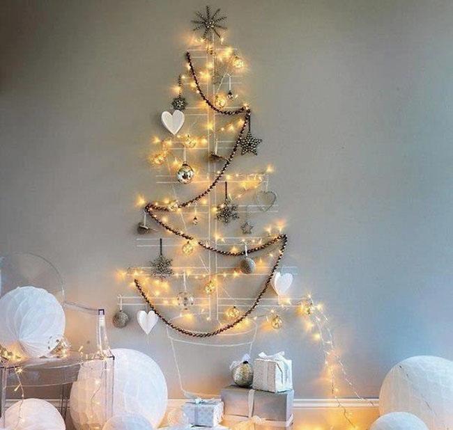 Как красиво украсить квартиру к новому году своими руками