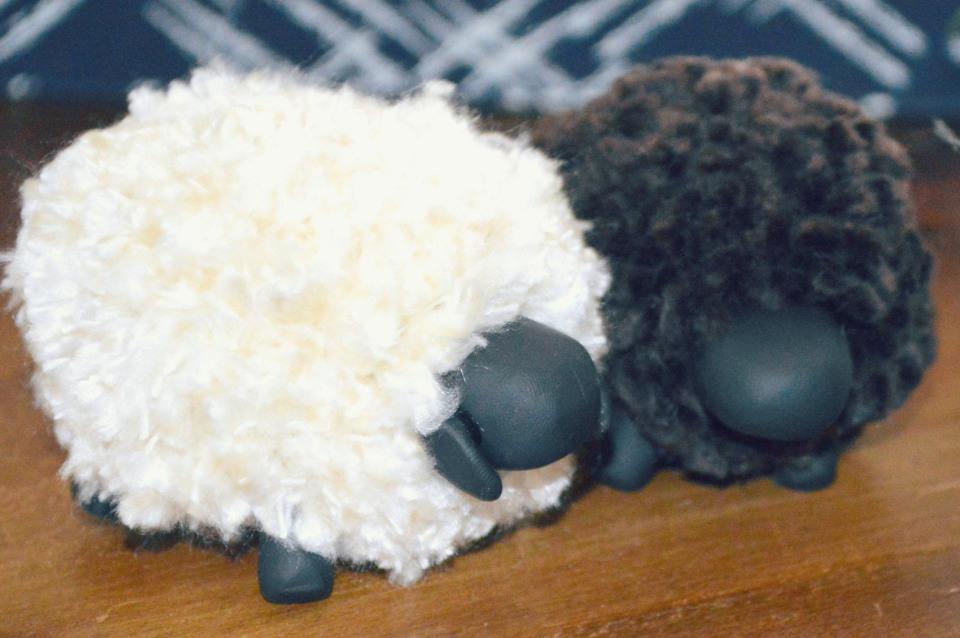 Сделать овечку своим руками 791