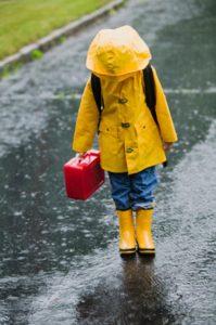 Детский дождевик: виды дождевиков, какой выбрать и как сделать детский дождевик своими руками