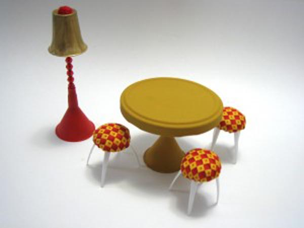 Смотреть как сделать кукольную мебель