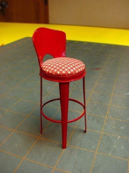 Как сделать стул для кукол фото 207