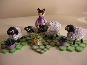 Овечка квиллинг. Как сделать овечку в технике квиллинг?