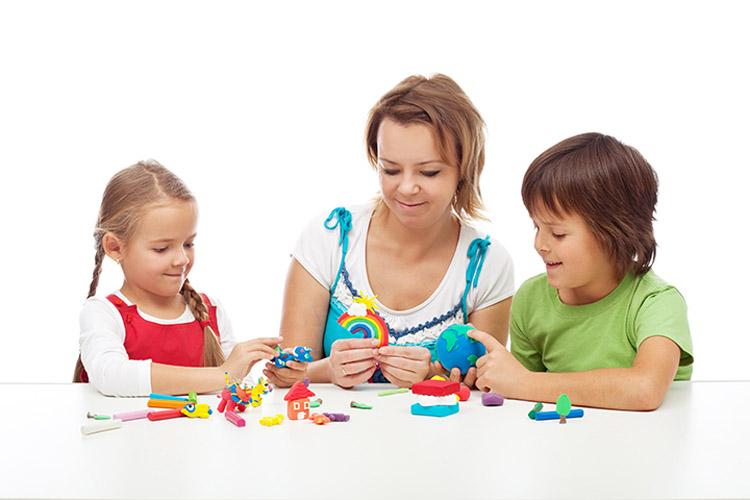 . Поделки из пластилина для детей