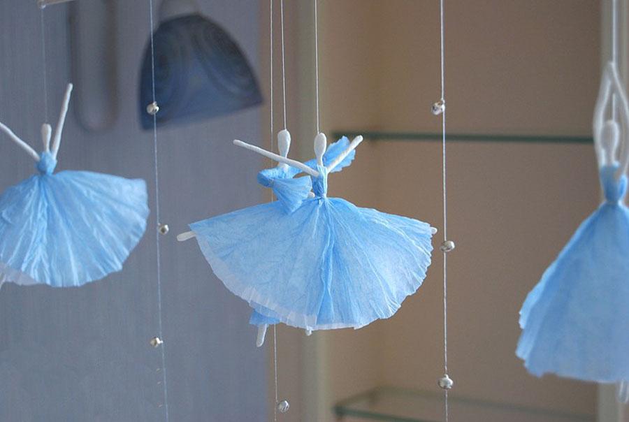 Поделки балерины своими руками 56