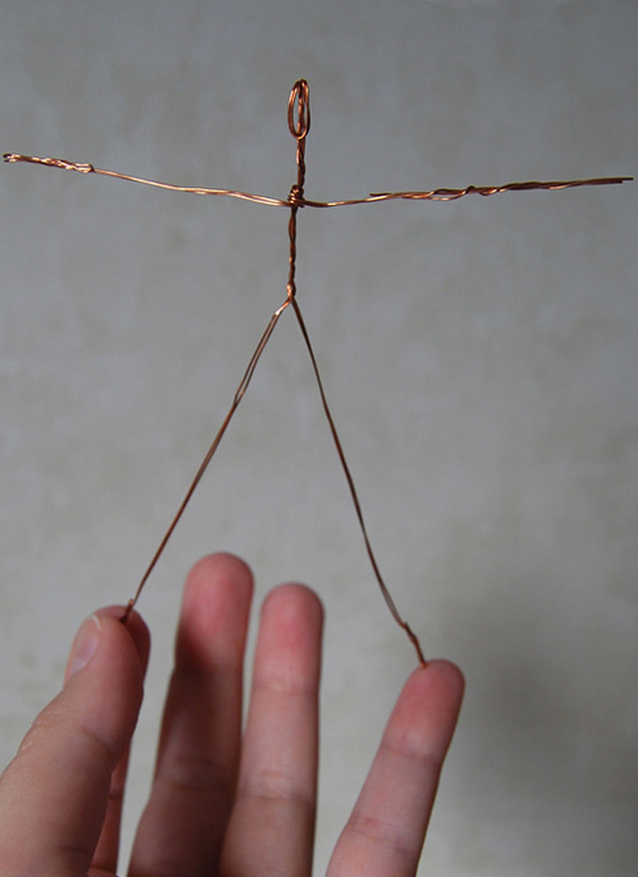Салфетница из проволоки своими руками
