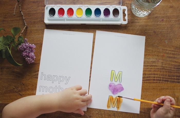 Открытки мамам на день матери своими руками