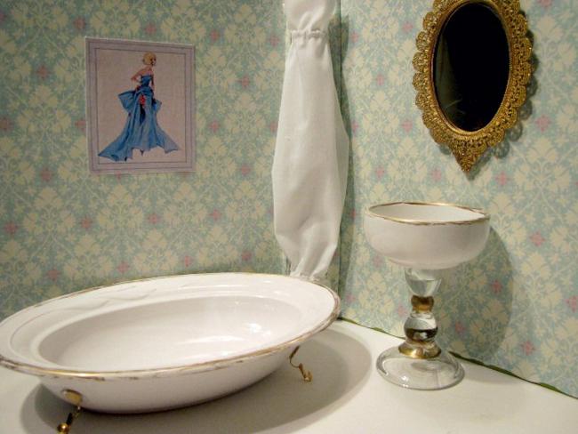 Ванна и туалет для куклы своими руками