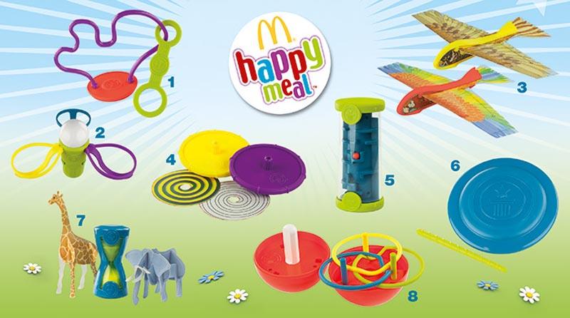 Какие игрушки сейчас в Макдональдс? Игрушки в Макдональдс октябрь 2014?