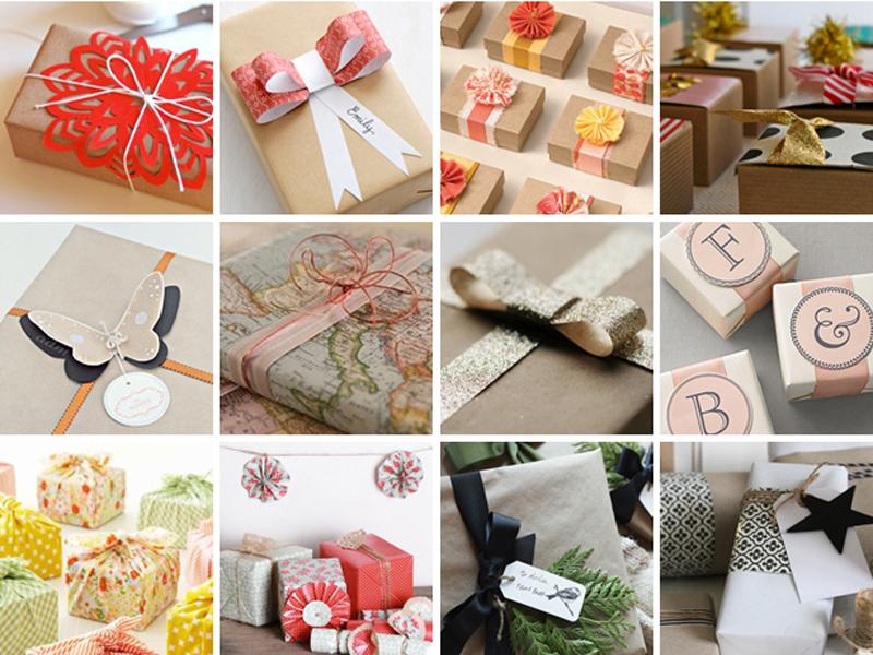 Как красиво оформлять подарки 210