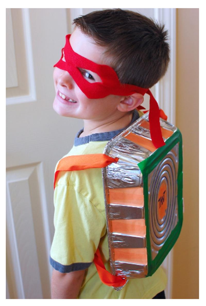 Детский костюм черепашка ниндзя на новый год