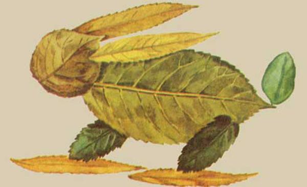 Поделки из природных материалов: поделки из листьев