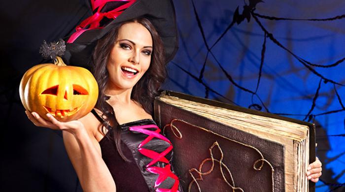 Костюм для хэллоуина ведьма своими руками