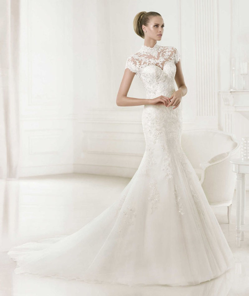Свадебные платья 2015: модные цвета, фасоны и аксессуары | вТему