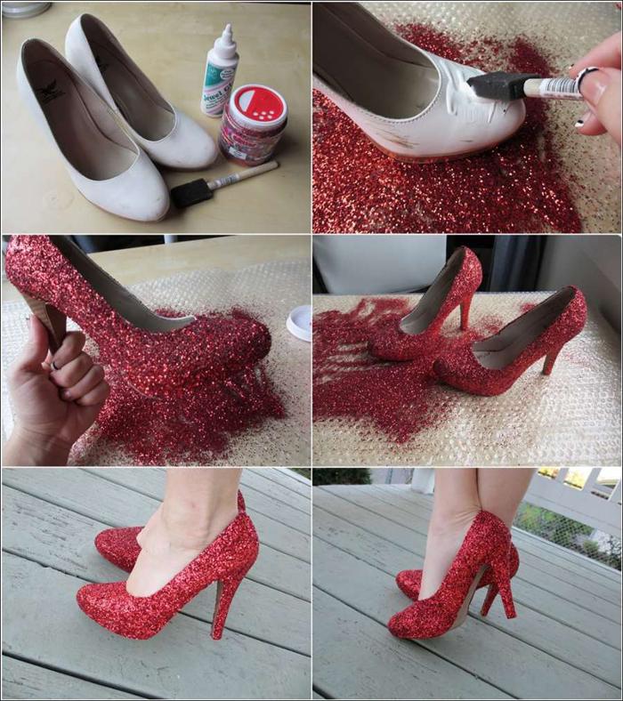Изготовить туфли своими руками