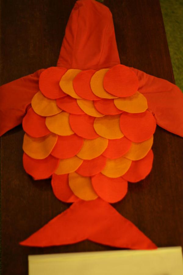 Рыбки своими руками из ткани