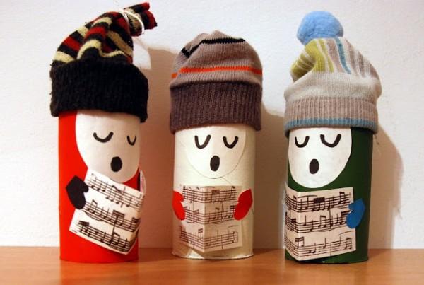 Новогодние поделки своими руками из втулок от туалетной бумаги