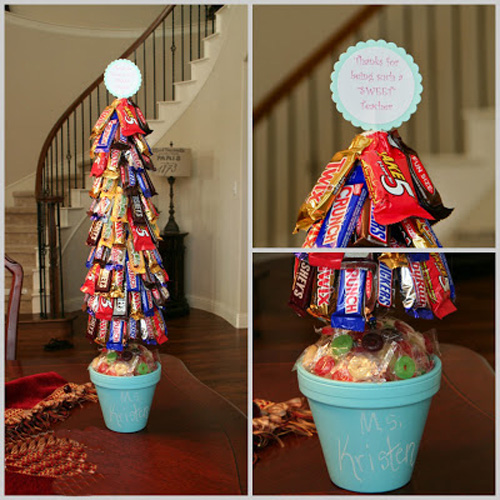Упаковать конфеты на новый год своими руками