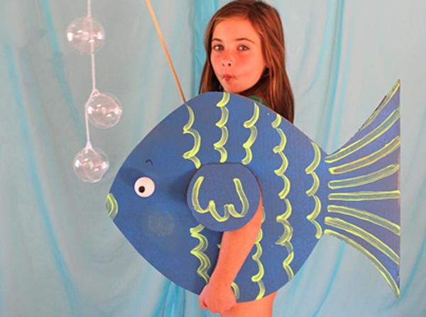 Костюмы рыбки на новый год своими руками