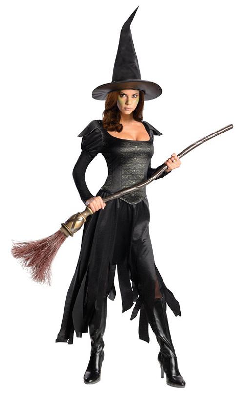 Костюм ведьмы на Хэллоуин своими руками - photo#3