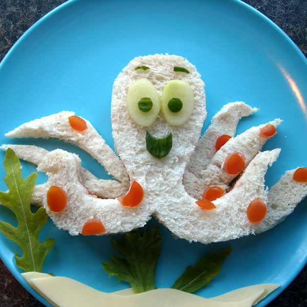 Детские бутерброды для завтраков, детских праздников и Дня Рождения