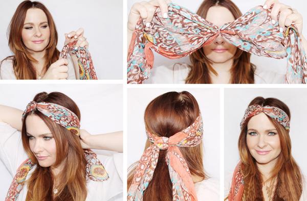 Как красиво завязать платок на голове? Прически с платком на голове Новостной портал вТЕМУ - всегда полезная информация