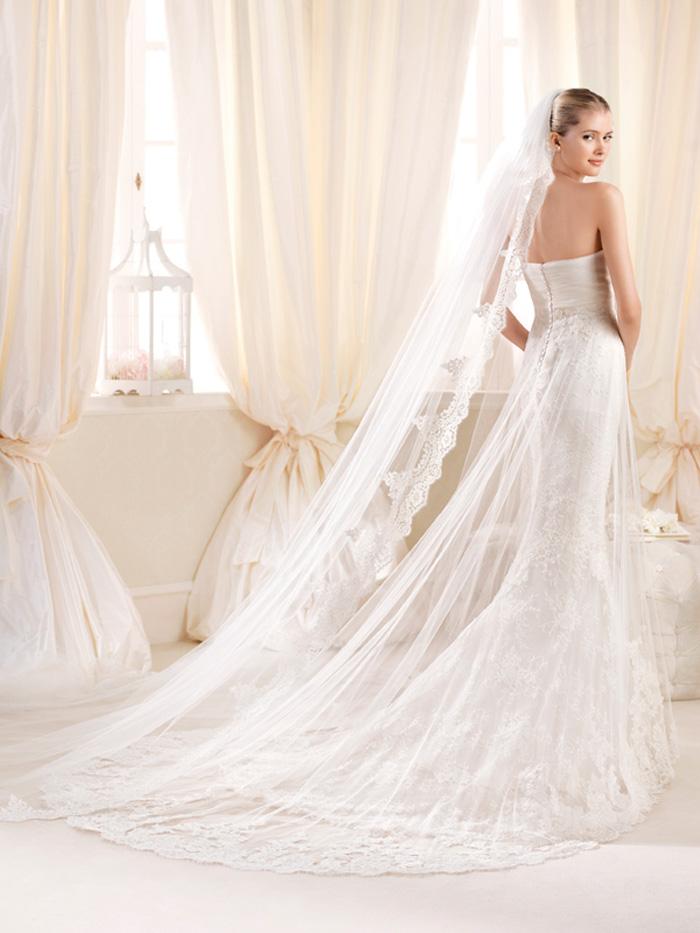 Свадебные платья 2015: модные цвета