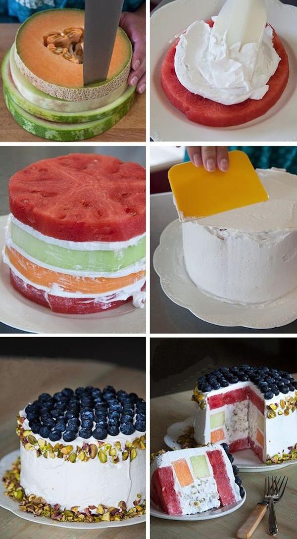 Как украсить торт в домашних условиях 100