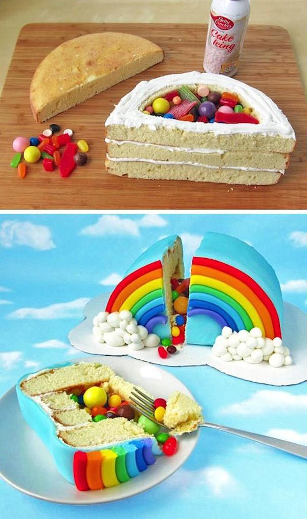 как украсить детский торт своими руками в домашних условиях фото