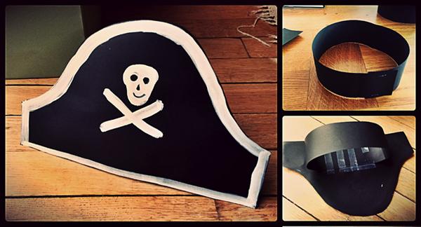 Шляпа Пирата Своими Руками Из Бумаги Видео