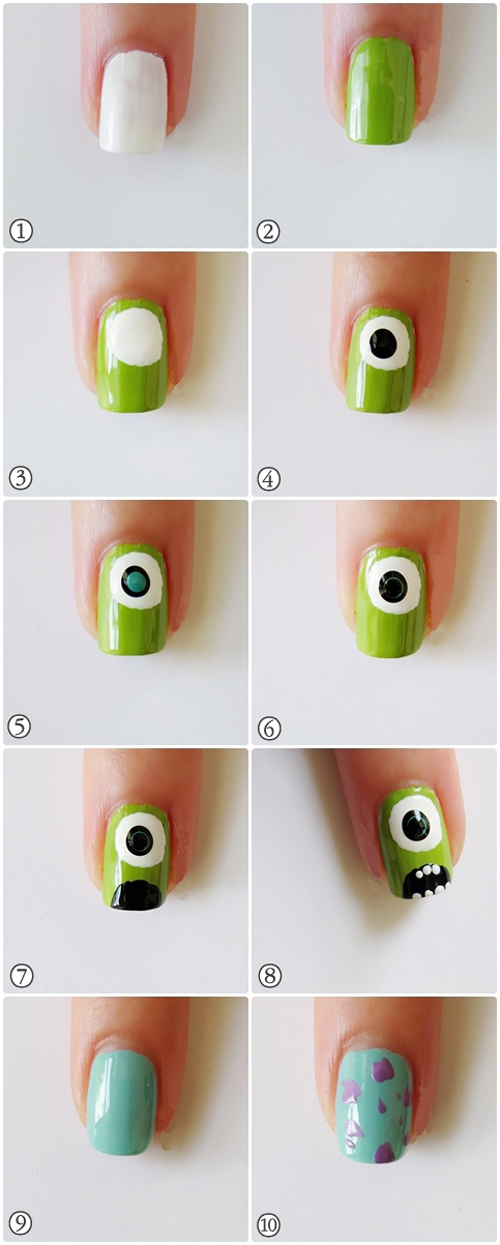 Как детям сделать красивый маникюр
