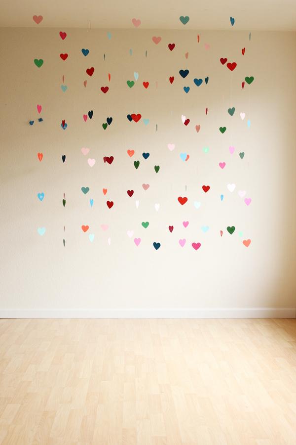 Гирлянда из сердец. Как сделать гирлянду из сердец своими руками?