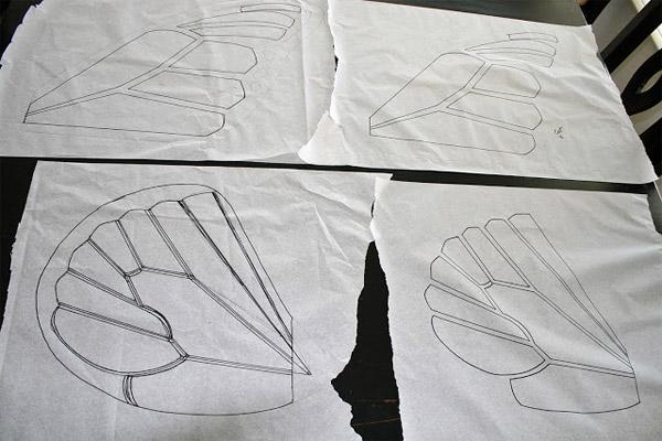 Как сшить галстук бабочку на резинке своими руками выкройка
