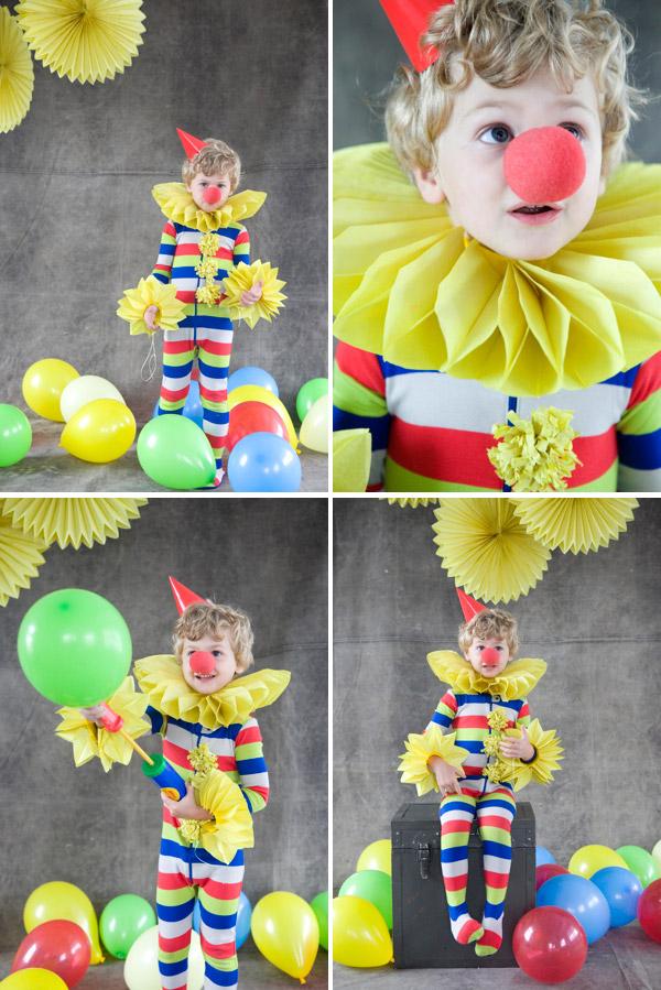 Нос для клоуна своими руками фото