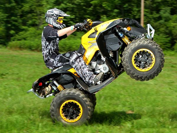 Квадроциклы BRP. Квадроциклы и их виды