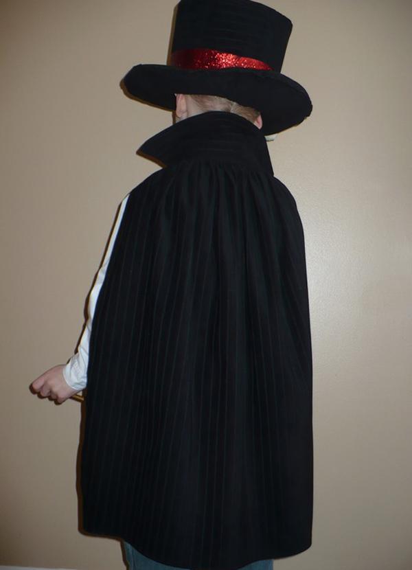 Новогодний костюм волшебник своими руками фото