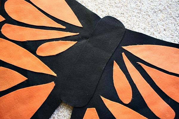 Крылья бабочки своими руками костюм